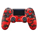 Sony - DualShock 4 Red Camouflage (PS4)