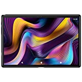 Tablet 10 Pulgadas, 5G Wi-Fi, 4G LTE Dual SIM, Android 10.0 YESTEL T5 Tablet PC, Procesador Octa-Core 1.6 GHz, HD Display, Face ID, 3 GB de RAM, 64 GB Ampliables hasta 128 GB, Color Negro